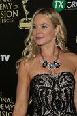 BEVERLY HILLS - JUN 22: Sharon Case at The 41st Annual Daytime Emmy Awards at The Beverly Hilton Hot