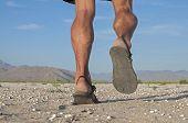 Running In Sandals