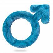 soft male symbol