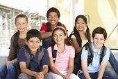 foto of pre-teen boy  - Pre teen children in school - JPG