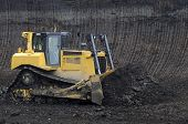 pic of collier  - Large excavator digging coal at surface coal mine - JPG