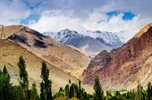 stock photo of jammu kashmir  - Rocky landscape of Ladakh Jammu and Kashmir India - JPG