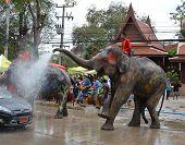 Thai Songkarn festival