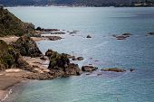 Landscape From Russell Near Paihia, Bay Of Islands, New Zealand