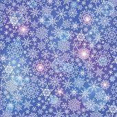 Snowflake  Background.winter Vector