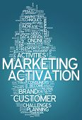 Word Cloud Marketing Activation