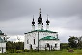 Church of the Entry into Jerusalem. Suzdal, Golden Ring of Russia.