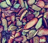 rock image background toned with a retro vintage instagram filter effect