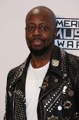 LOS ANGELES - NOV 23:  Wyclef Jean at the 2014 American Music Awards - Press Room at the Nokia Theater on November 23, 2014 in Los Angeles, CA