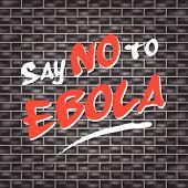 No Ebola Graffiti