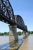Railroad Bridge Over Ohio 1