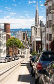 The street of San Francisco