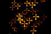 Bokeh Cross