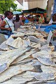 Selling bacalhau