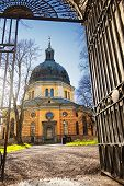 foto of church  - Hedvig Eleonora Church is a church in central Stockholm Sweden - JPG