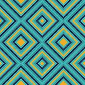 Seamless Geometric Square Pattern In Retro Style Vector