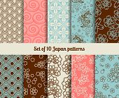 picture of fin  - Japanese seamless patterns - JPG
