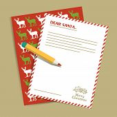 foto of letters to santa claus  - Christmas letter to Santa Claus - JPG