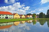 foto of nice house  - Rural decorated houses in Zabori  - JPG