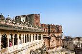 stock photo of raja  - Meherangarh fort - JPG