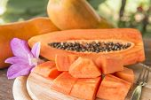 picture of pawpaw  - Place the sliced  - JPG