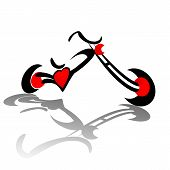 Chopper Red Heart