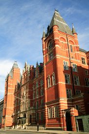 image of kensington  - The Royal College Of Music built in 1901 and designed by Arthur Blomfield  - JPG