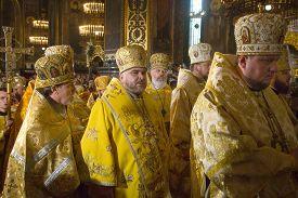 pic of baptism  - KIEV UKRAINE  - JPG