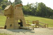 Childrens Castle In Wood
