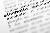 Alcoholic (the Dictionary Project)