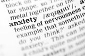 Anxiety (the Dictionary Project)