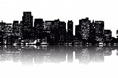 New York Skyline Abstract