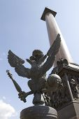 Autocracy Bronze Eagle And Alexander Column
