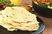 Indian flatbread called Chapati