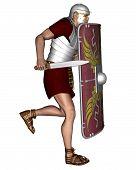 Imperial Roman Legionary Soldier