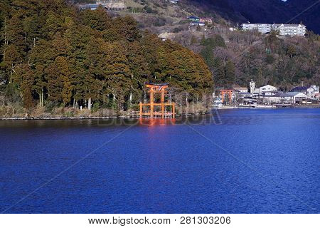 Mount Fuji With Lake Ashi