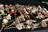 Barbeque Shish Kabob