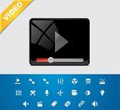 Universal glyphs 1. Video set