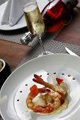 shrimp with wine