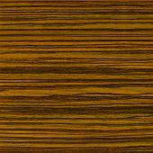 Primer plano madera Zebrano Negro textura a fondo