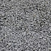 Road stone gravel texture to background