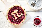 Pi Day Cherry Pie poster