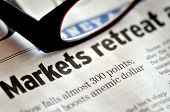 Markets Retreat - Tough Financial News