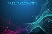 Scientific Vector Illustration Genetic Engineering And Gene Manipulation Concept. Dna Helix, Dna Str poster