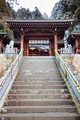 Stair to Sakurayama Hachimangu Shrine, Hida, Takayama