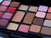 Makeup Colors Of Open Palette