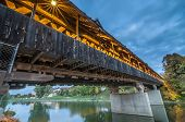 Covered Bridge at Frankenmuth Michigan
