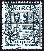 Postage stamp Ireland 1923 Coat of Arms, Ireland