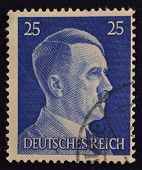 German postage stamp Adolf Hitler
