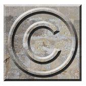 Copyright Symbol Written In Stone